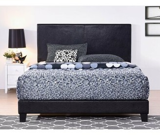 Canora Grey Moyers Faux Leather Standard Bed Size: Full