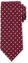 Ermenegildo Zegna Lattice Silk Tie