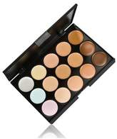 LanMix 15 Color Concealer Facial Face Cream Care Camouflage Makeup Palette