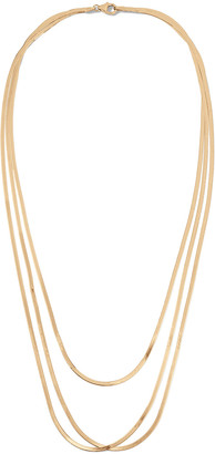 Lana Liquid Gold Thin Layering Necklace