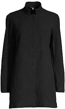 Eileen Fisher Women's Waffle Knit Jacket
