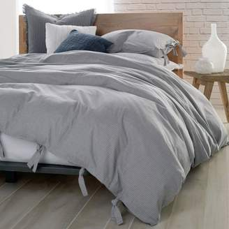 DKNY PURE Stripe Duvet Cover, Twin