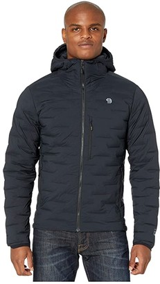Mountain Hardwear Super/DStm Hooded Jacket (Black) Men's Coat