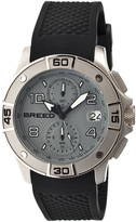 Breed Silver & Gray Raylan Chronograph Watch