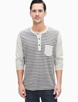 Splendid Canyon Stripe Henley