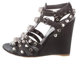 ba1c513aac14 Balenciaga Stud Sandals - ShopStyle