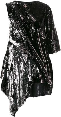 Marques Almeida Sequin Embellished Dress