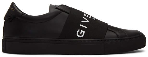 Givenchy Black Elastic Urban Knots Sneakers