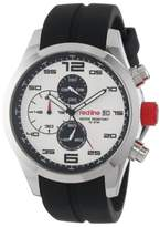 Redline red line Men's RL-50042-02 Stealth Stainless Steel Watch with Black Silicone Band