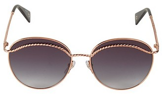 Marc Jacobs 58MM Rounded Aviator Sunglasses