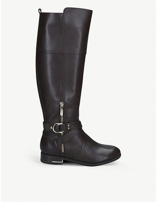 Nine West Linore mid-calf leather boots