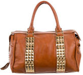 Tory Burch Embellished Leather Satchel
