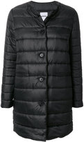 Aspesi padded round neck coat