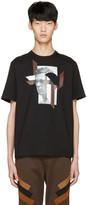 Neil Barrett Black Modernist Steve McQueen T-Shirt