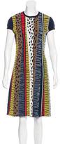 Fendi Knit Patterned Dress