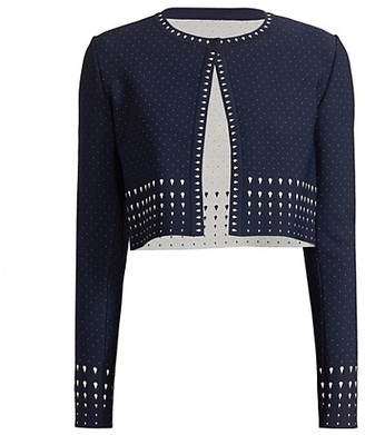 Alaia Court Cropped Cardigan