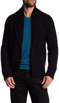 Vince Front Button Wool Blend Cardigan