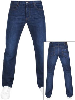 Giorgio Armani Emporio J21 Regular Fit Jeans Blue