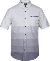 Hurley Men's Wreckless Ombré Stripe Cotton Shirt