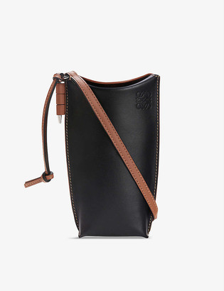 Loewe Gate Pocket leather shoulder bag