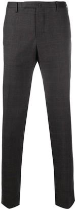 Incotex Plaid Tailored Trousers