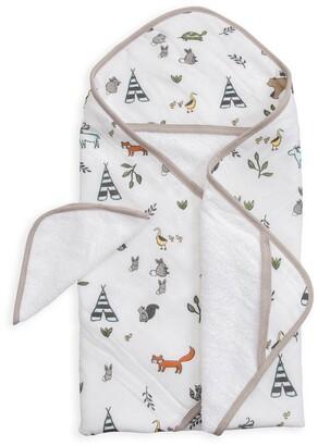 Little Unicorn Hooded Towel and Washcloth Set