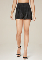 Bebe Front Lace Up Shorts