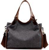 Bramble Women Canvas Shoulder Bags Cross-Body Bag Messenger Bag Tote Bags Handbag