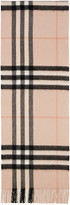 Burberry Pink Giant Icon Scarf