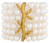 Cathy Waterman 22K Multi Strand Pearl Bracelet