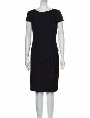 Chanel 2011 Knee-Length Dress Blue