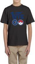 Hera-Boom Youth's Mobile Game Let's Go Pokeball Logo T-shirts