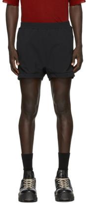 11 By Boris Bidjan Saberi Black Nylon Shorts
