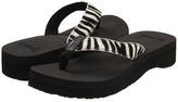 Reef Butter Safari (Black/Zebra) - Footwear