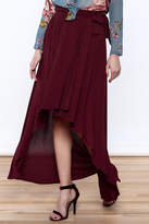 Lucy-Love Lucy Love Sangria Wrap Skirt