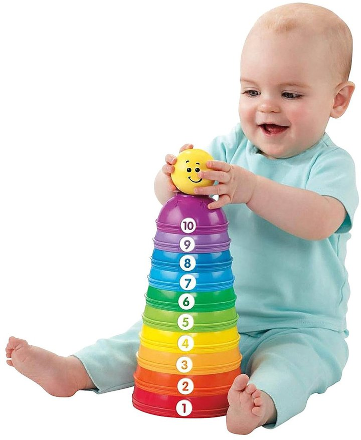Fisher-Price Stack & Roll Cups 2 pack