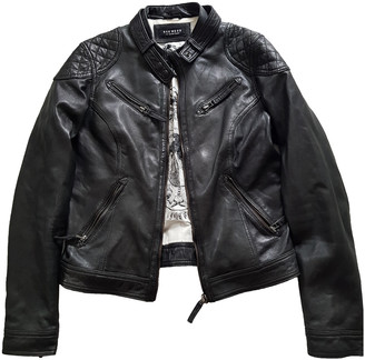 Oakwood Grey Leather Jackets