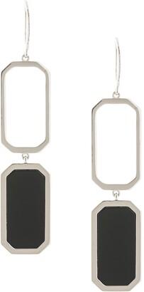 Julia Davidian Onyx earrings