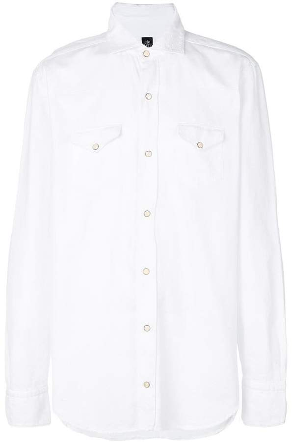 Eleventy poplin shirt