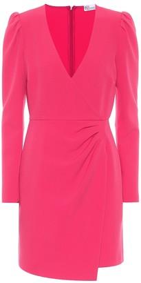 RED Valentino Stretch-crepe minidress