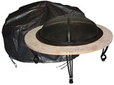 Fire Sense Large Outdoor Round Fire Pit Vinyl Cover