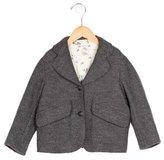Bonpoint Girls' Virgin Wool Notch-Lapel Jacket