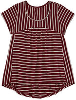 Arizona Short-Sleeve Ribbed Tee - Girls 7-16 and Plus