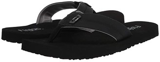 Flojos Bandera (Black) Men's Sandals