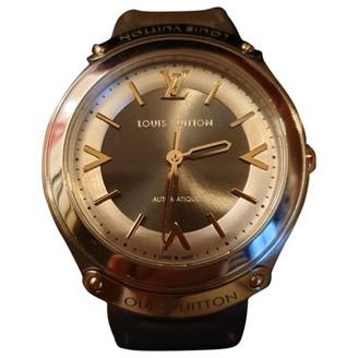 Louis Vuitton Grey Steel Watches
