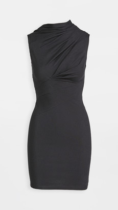 RtA Holly-Twisted Jersey Dress