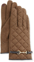 Portolano Wool-Blend Quilted Gloves