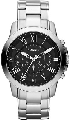 Fossil Grant Silver Watch