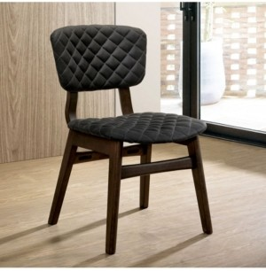Furniture of America Jaykub Mid-Century Modern Dining Chair (Set of 2)