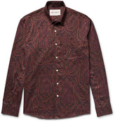 Our Legacy - Slim-fit Paisley-print Cotton-flannel Shirt